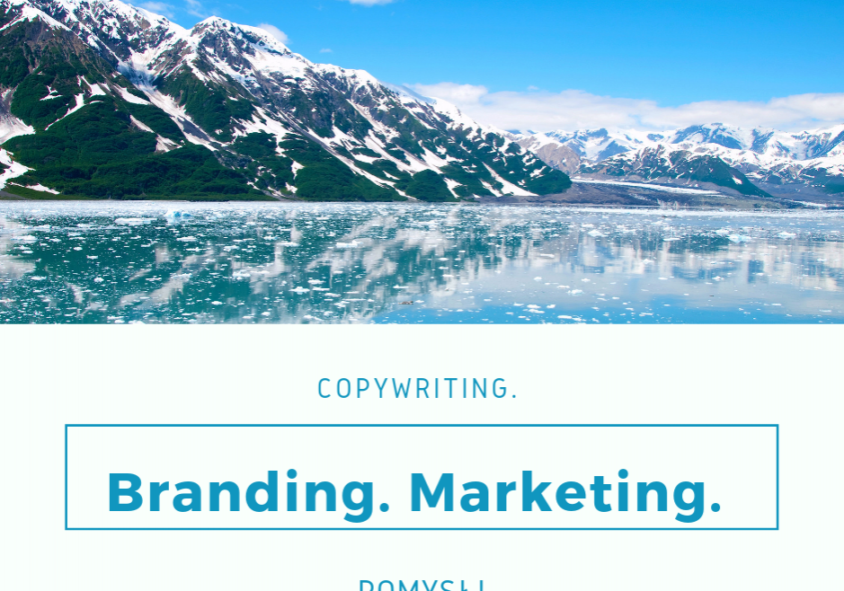 Branding – unikalna budowa marki! Marketing. Copywriting.